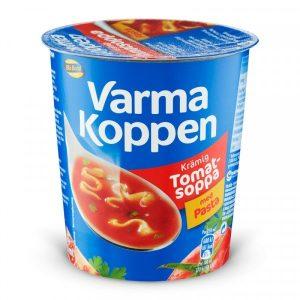 Blå Band Varma Koppen Krämig Tomatsoppa med Pasta