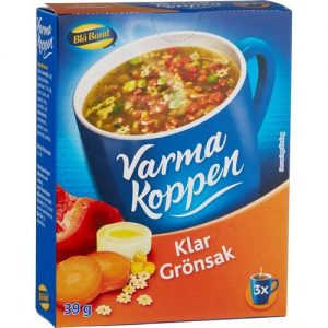 Blå Band Varma Koppen Klar Grönsak