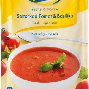 Blå Band Soltorkad tomat & Basilika