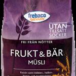 Frebaco Kvarn Müsli Frukt & Bär