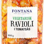 Fontana Vegetarisk Ravioli i Tomatsås