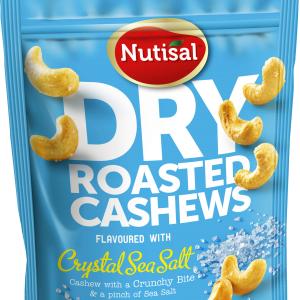 Nutisal Dry Roasted Cashews Crystal Sea Salt