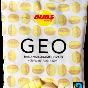 Bubs Godis GEO Banana/Caramel Ovals
