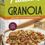 Paulúns Granola Mullbär Kardemumma