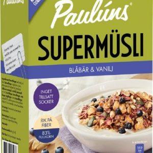 Paulúns Supermüsli Blåbär Vanilj