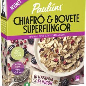 Paulúns Chiafrö & Boveteflingor Tranbär, Björnbär & Kardemumma