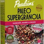 Paulúns Supergranola Hasselnöt, Mandel & Hallon