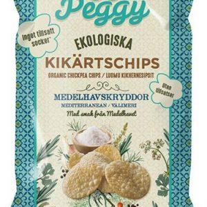 Veggie Peggy Kikärtschips Medelhavskryddor