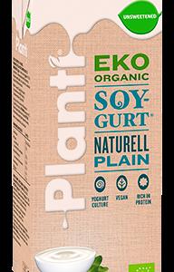 Planti Eko Soygurt Naturell osötad