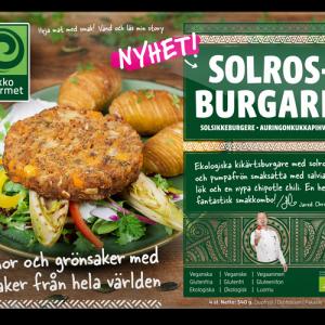 Ekko Gourmet Solrosburgare