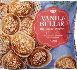 Coop Vaniljbullar (frysta)