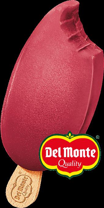 Del Monte Smoothieglass Hallon