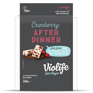 Violife After Dinner Cranberry Wedge