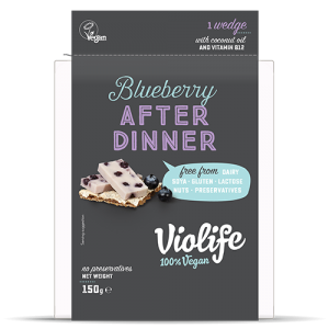 Violife After Dinner Blueberry Wedge