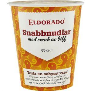 Eldorado Snabbnudlar Kopp Biff
