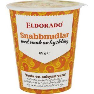 Eldorado Snabbnudlar Kopp Kyckling