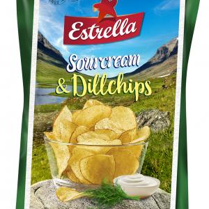 Estrella Limited Edition Sourcream & Dillchips