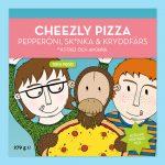 Astrid Och Aporna Cheezly Pizza Pepperöni, Sk*nka & Kryddfärs