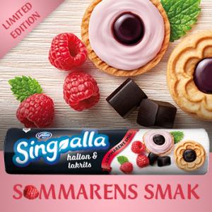 Göteborgs Kex Singoalla Hallon & Lakrits