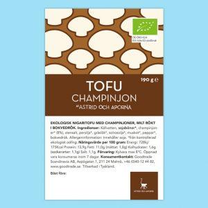 Astrid Och Aporna Tofu Champinjon