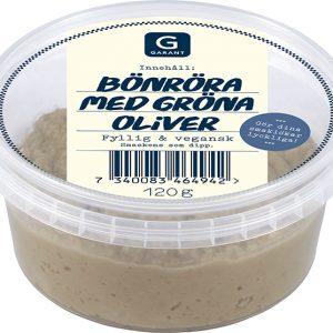Garant Bönröra med gröna oliver