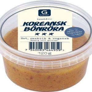Garant Koreansk bönröra