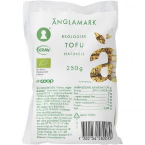 Coop Änglamark Tofu Naturell KRAV