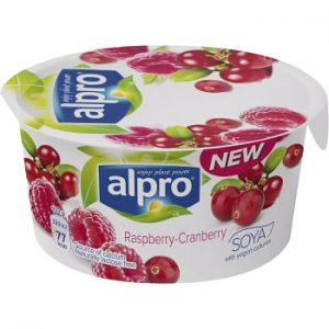 Alpro Yoghurt Hallon & Tranbär