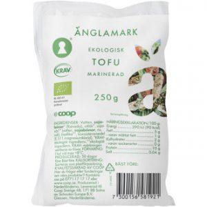 Coop Änglamark Tofu Marinerad KRAV