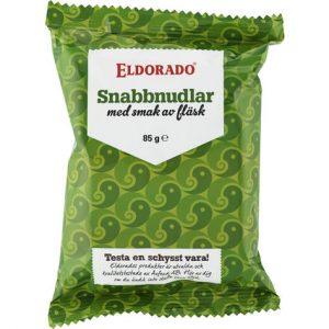 Eldorado Snabbnudlar Fläsk