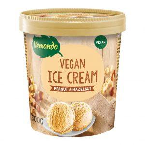 Vemondo Dairy Free Ice Cream Peanut & Hazelnut