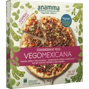 Anamma Stenugnsbakad Pizza Vegomexicana