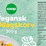 Coop Vegansk Middagskorv
