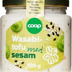 Coop Wasabitofu med sesam