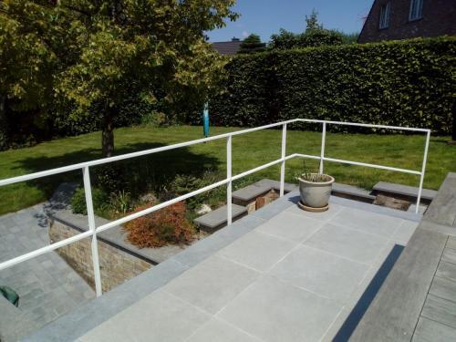 Eenvoudige balustrade