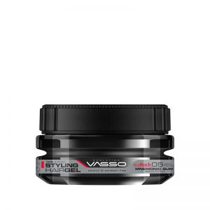 Vasso Styling Hair Gel Mnemonic Gum | The Rock 250 ml