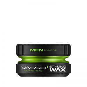 Vasso Styling Wax Pro-Matte | Matte Head 150 ml