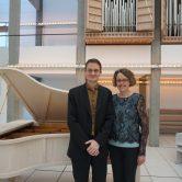 Danske og franske værker med Duo Mathiesen-Magnussen på klaver og orgel