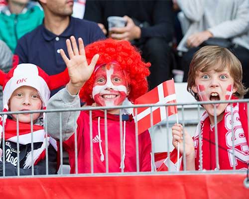 Kom med til Landskamp på Viborg Stadion