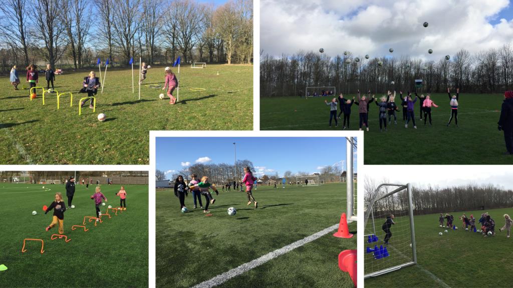 Fantastiske fodbolddage på pigefodbold-festivalerne