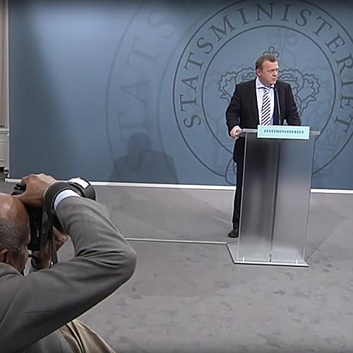 Statsministerens pressemøde