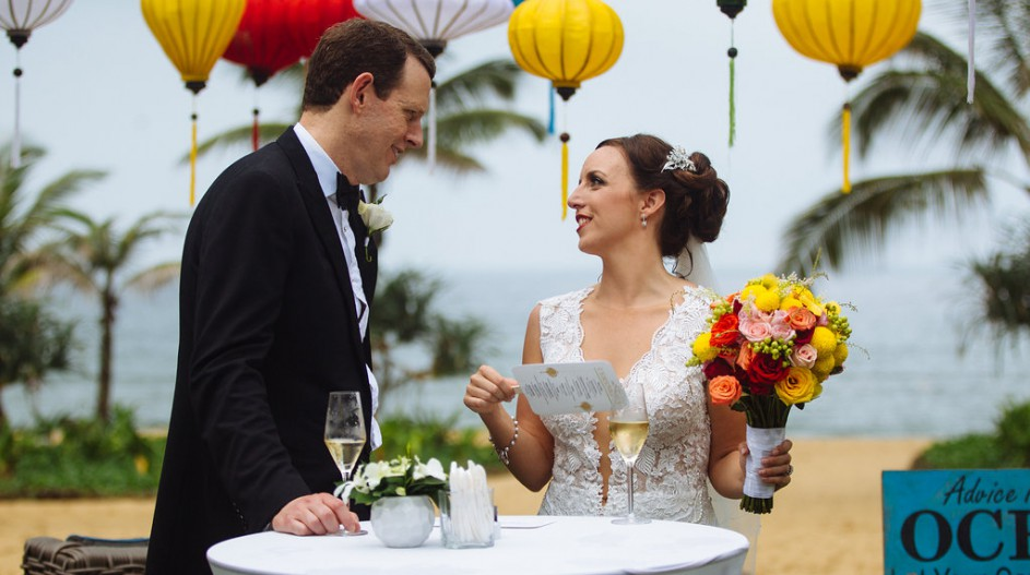 Luxury Beach Wedding | Hoi An, Vietnam