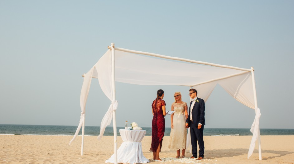 Private Beach Wedding in Vietnam - Hoi An, Vietnam
