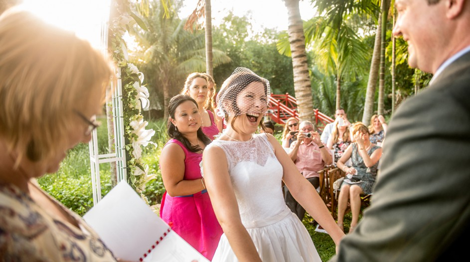 Riverside Wedding Celebrant | Hoi An, Vietnam