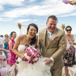 Seaside Wedding Ceremony with Pink Theme | Hoi An, Vietnam