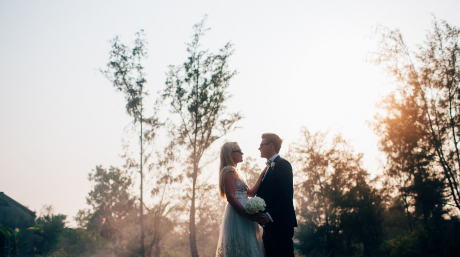 Sunset Wedding for Two | Hoi An, Vietnam