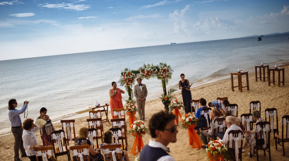 Beyond Hoi An, Phuc Quoc, beach wedding ceremony
