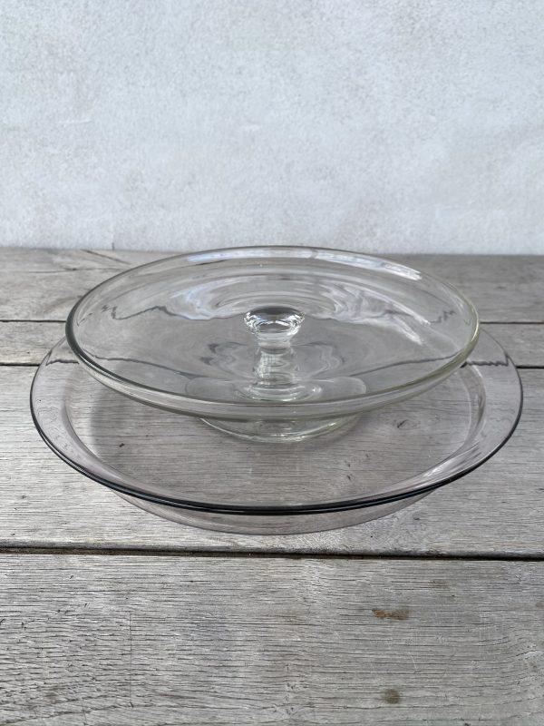 Fransk glasfad