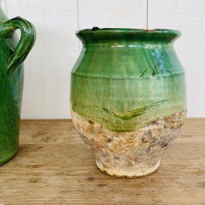 Grøn Provencekrukke -19 cm