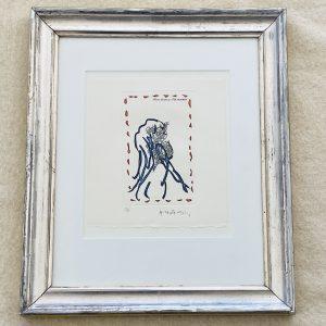 Alechinsky litografi - 20/90